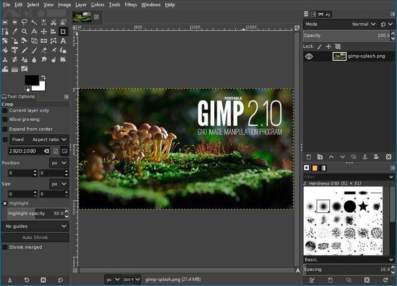 gimp-mejores-programas-de-diseño-grafico-gratuitos