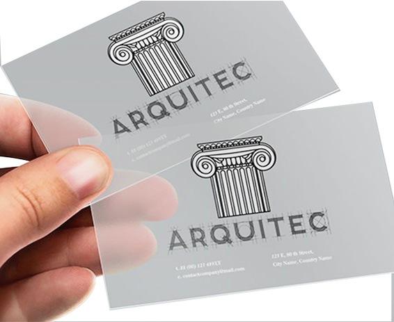 tarjetas-transparentes-tinta-blanca